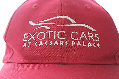 Caesars Palace Exotic Cars Las Vegas Baseball Cap Trucker Biker Hip Hop Snapback](Car Hop Hat)