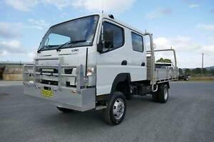 2016 Fuso Canter 4x4 Crew Cab South Murwillumbah Tweed Heads Area Preview