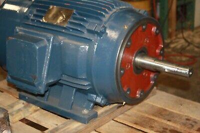 North American 60 Hp Electric Motor 3565 Rpm Tefc 364jp 208-460v