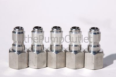 5- 14 Fpt X 14 Male Quick Connect Stainless Steel Pressure Washer Fittings