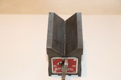 Eclipse Dual-Vee Magnetic V-Block. # E934. Condition used.