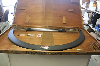 Starrett 724m 900mm-1050mm Interchangeable Micrometer 4 6 7 8