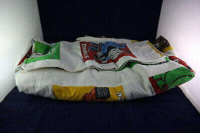 Vintage 1992 Thomas The Tank Engine Kids Twin Bed Sheet Set