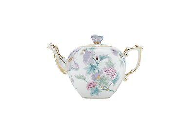Herend Royal Garden Porzellan Teekanne Kanne Tee Kaffeekanne Kaffee Butterfly Garden Teekanne