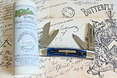 Great Eastern Cut USA Tidioute # 613409 River Blue Bone Congress Knife 1 of 12