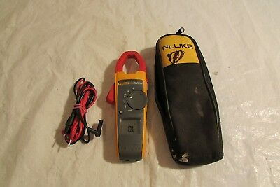 Fluke 373 True Rms Acdc Clamp Meter And Lead  1