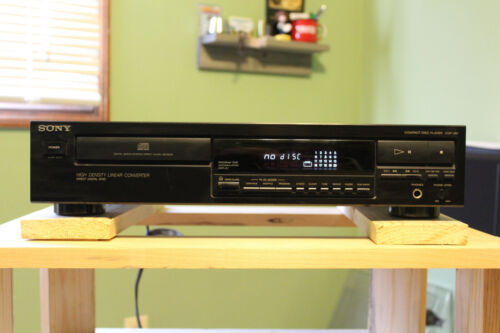 Sony CDP 297 CD Player…Functionally perfect!!  NO REMOTE