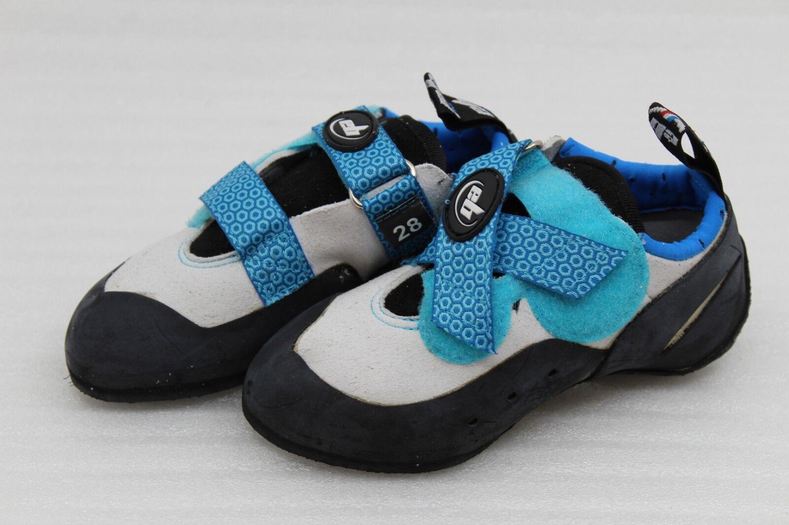 Eb Neokid Kinder Kletterschuhe Kletterschuh weiß blau Größe 30
