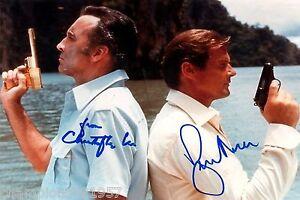 Roger Moore  ++Autogramm++ ++James Bond 007++