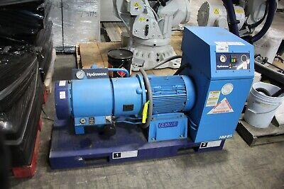Hydrovane Hv-15 Skid-mount Vane Compressor 9 Bar Hv-15 Working 15kw