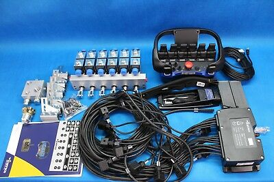 Scanreco Rc400 Radio Remote Control Systems 6 Functions Hiab Acutators
