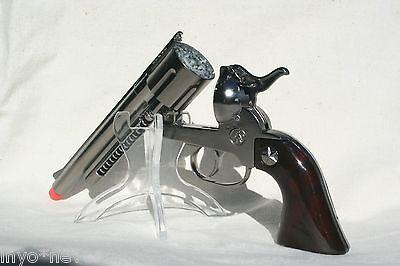 Cap Gun Pistol (Silver Cap Gun Pistol Made in Spain 12 Shot Ring Cap BRAND NEW)