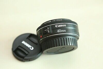 Canon EF 40mm f/2.8 EF STM Lens ( Mint Condition ) Pancake Lens