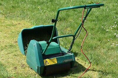 Qualcast Classic electic 30* cylinder mower. Good working order. Long cable.