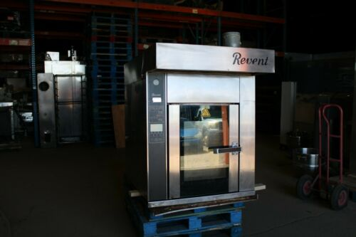 REVENT 739U-EL SHOP MINI ROTATING RACK OVEN ELECTRIC BAKERY CONVECTION