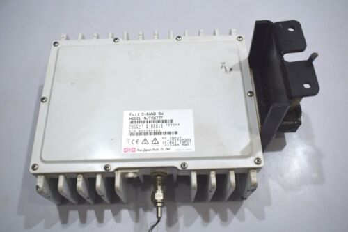N JRC NJT5677F C-Band 5W 5.85 to 6.725 GHz Block Up Converter BUC F Connector