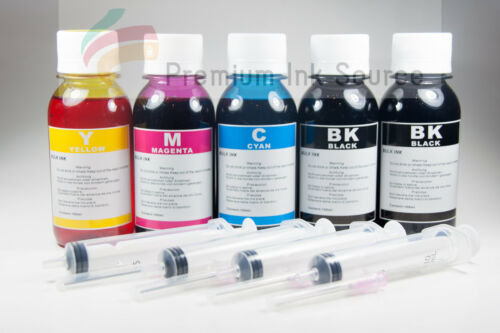 500ml Premium bulk refill ink for Canon HP Lexmark Brother Dell Printer 4 colors