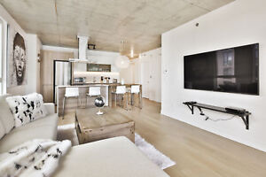 Fully furnished two bedrooms in Griffintown