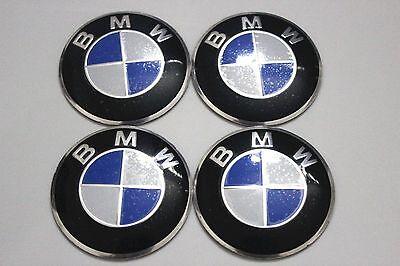 4PCS BMW Wheel Center Sticker EMBLEM Rims Center Decal Logo / ALUMINUM – 56mm