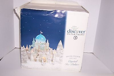 Department 56 Christmas in the City Crystal Ice Palace Special Edition - Castle Halloween Special