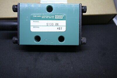 Ingersoll-rand Aro 3 Way Manual Bleed Pneumatic Air Valve 5130-24