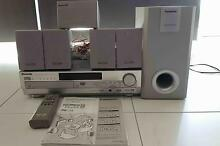 Panasonic SC-HT75 DVD Home Theater System + 2 Speaker Stands Hallett Cove Marion Area Preview