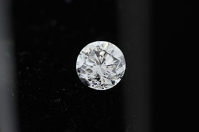 GIA .64ct Round Loose Diamond H color, I1 clarity 5.27-5.34 x 3.52mm