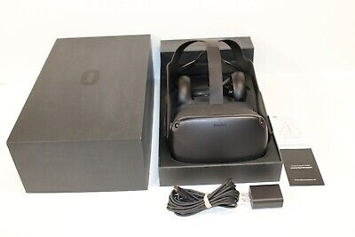 Oculus Quest 64GB VR Virtual Reality Headset and Controllers - Tested Working