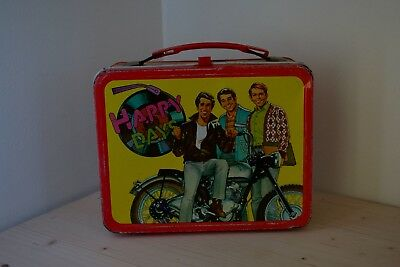 Happy Days 1976 Vintage Metal Lunchbox