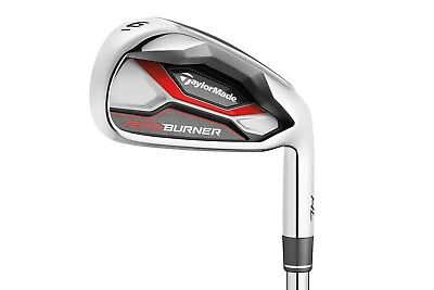 TAYLORMADE AEROBURNER HL IRONS STEEL SHAFT RH 4-PW AW REGULAR NEW