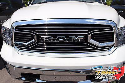 2013-2018 RAM 1500 Chrome Laramie Limited Front Grille MOPAR OEM