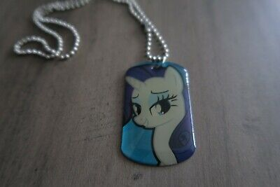 My Little Pony Dog Tag Necklace #2 Rarity
