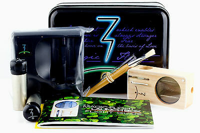 NEW AUTHENTIC 2014 MAGIC FLIGHT LAUNCH BOX VAPORIZER MAPLE + WARRANTY on Rummage