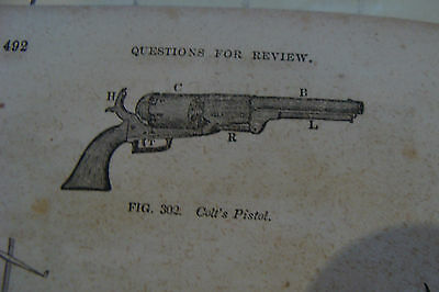 NATURAL PHILOSOPHY questions & illustrations Comstocks System 1854, VIGNETTES