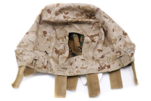 Unissued Medium USMC Enhanced Combat ECH Helmet Cover ACH MARPAT Marine Corps