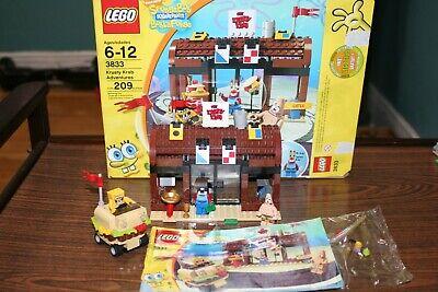 LEGO 3833 Krusty Krab Adventures 209 pieces Spongebob Squarepants Mr. Krabs