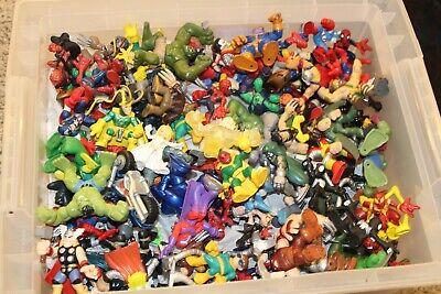 Marvel Super Hero Squad Force Friday Grab Bag Of 5 Figure Thanos Spiderman Thor