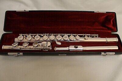 Yamaha 481-II Solid Silver Flute - Serviced w/New Pads d'occasion  Expédié en Belgium