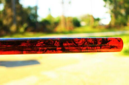 Genuine BAKELITE red Flambo rod 278x26mm 198 grams NO CRACKS