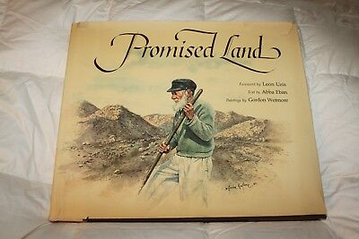 """Promised Land"" Book Paintings by Gordon Wetmore Text by Abba Eban A3R"