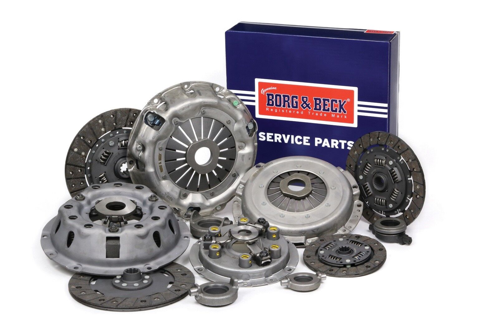 Triumph Clutch Kit - 3 Piece - Borg and Beck HK9788 - Fits TR2 - TR3 - TR4