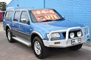 2002 Holden Rodeo TF LT Sports Utility Crew Cab 4dr Man 5sp 4x4 3.2i Enfield Port Adelaide Area Preview
