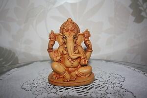 Indische Gott Ganesha Figur Skulptur Kunst Budha Radha Krishna OM Hindu Neu