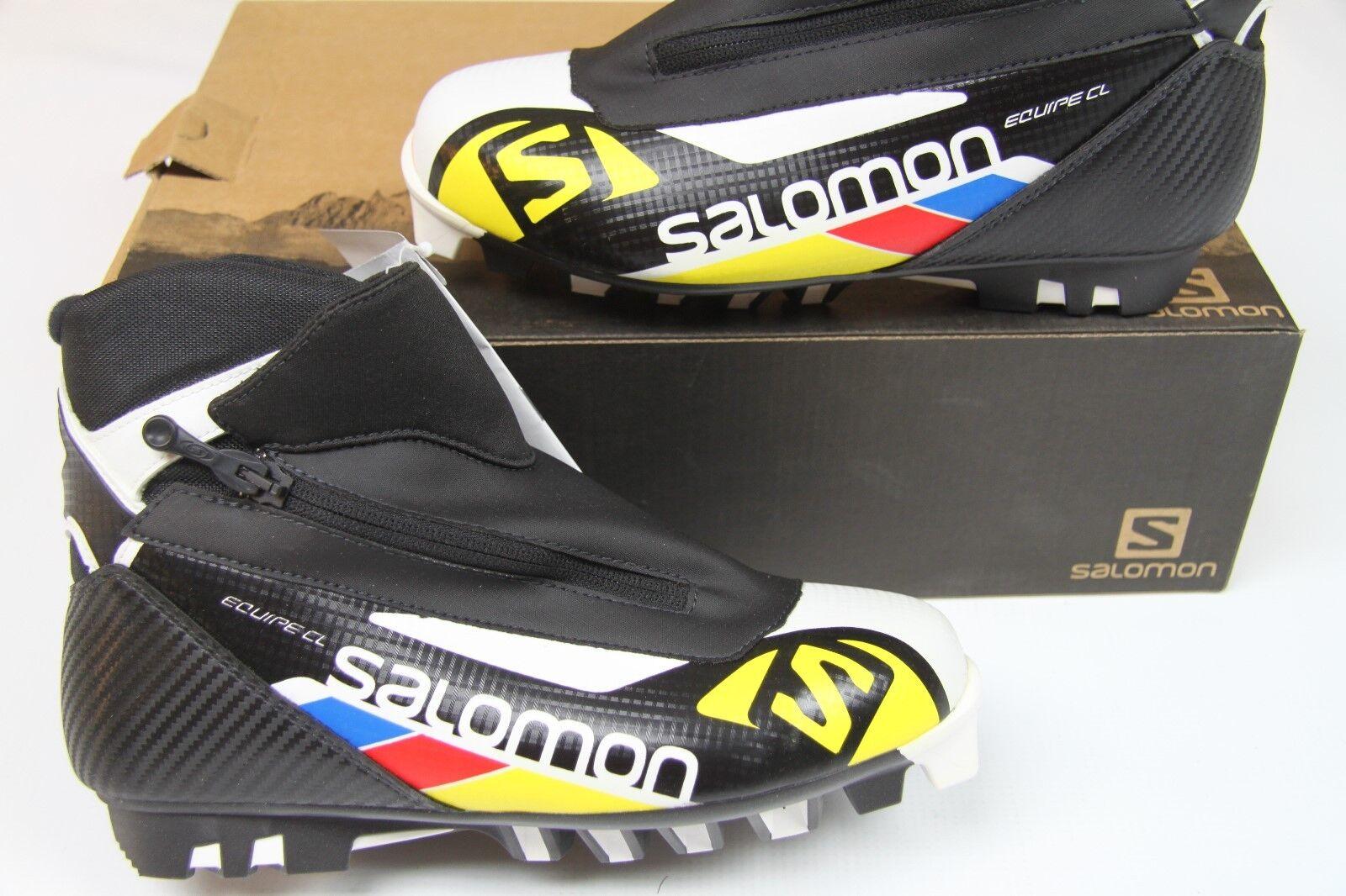 Salomon Equipe Classic Nordic Ski Boots EUR 38 US 5.5 Prt 13311 - $191.73