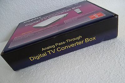 ZINWELL ZAT-950A Digital to Analog TV Converter Box w/Remote