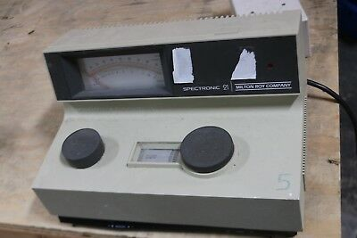 Milton Roy Spectronic 21 Spectrophotometer Lab Laboratory
