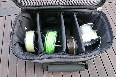 Greys GRX 5/6wt Fly Reel with 4 Spare Spools, Line, Case