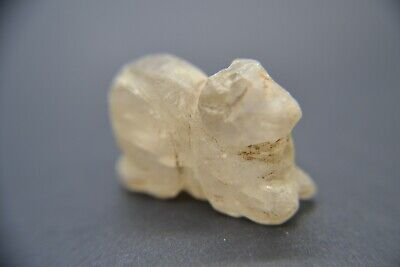 Ancient Egyptian style rock crystal amulet
