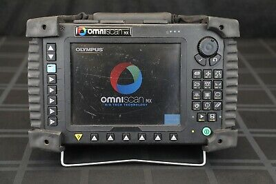 Olympus Omniscan Mx Phased Array Flaw Detector Mainframe Only - Ut Pa Zetec Ndt