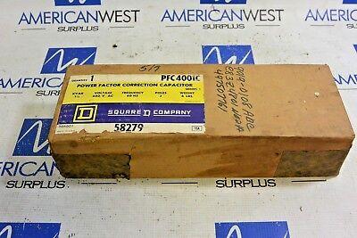 Pfc4001 Square D Power Factor Correction Capacitor 3 Pole 480v 60hz